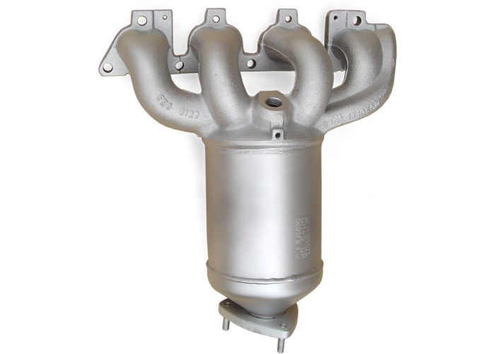 Catalytic converters for cars using gas and GPL